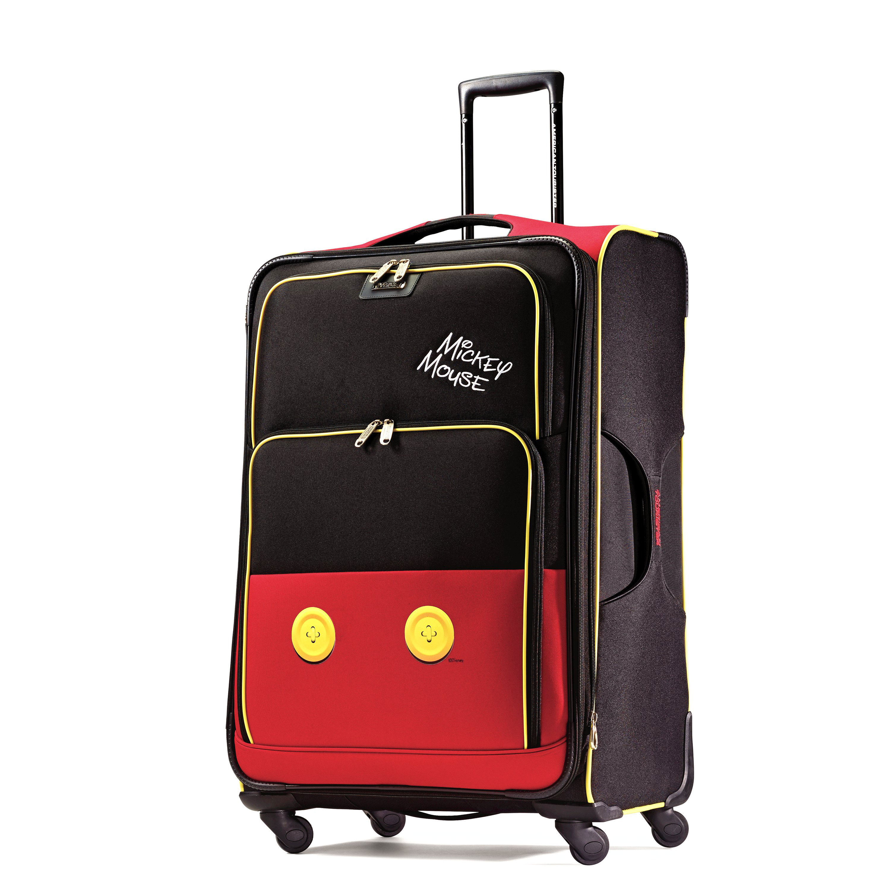 american tourister disney mickey mouse spinner luggage. Black Bedroom Furniture Sets. Home Design Ideas
