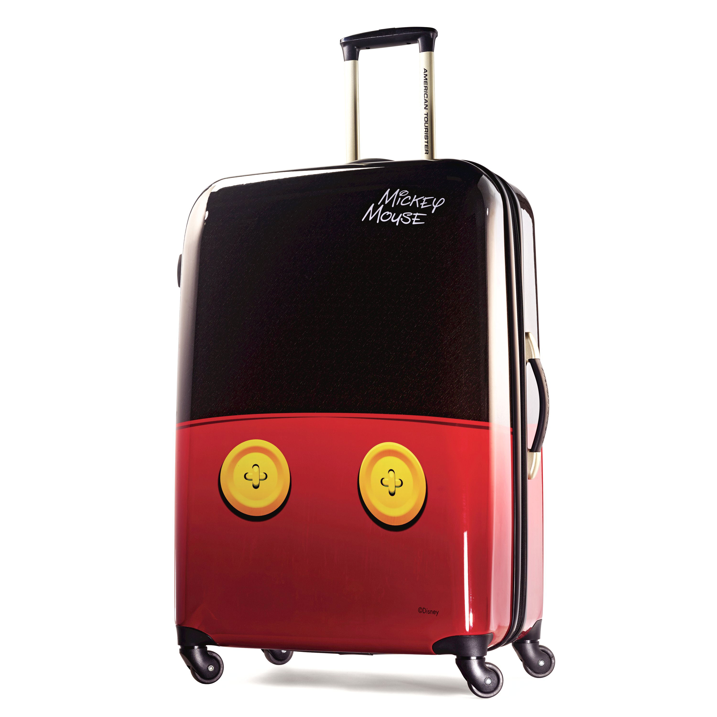 American-Tourister-Disney-Mickey-Mouse-Hardside-Spinner-Luggage thumbnail 6