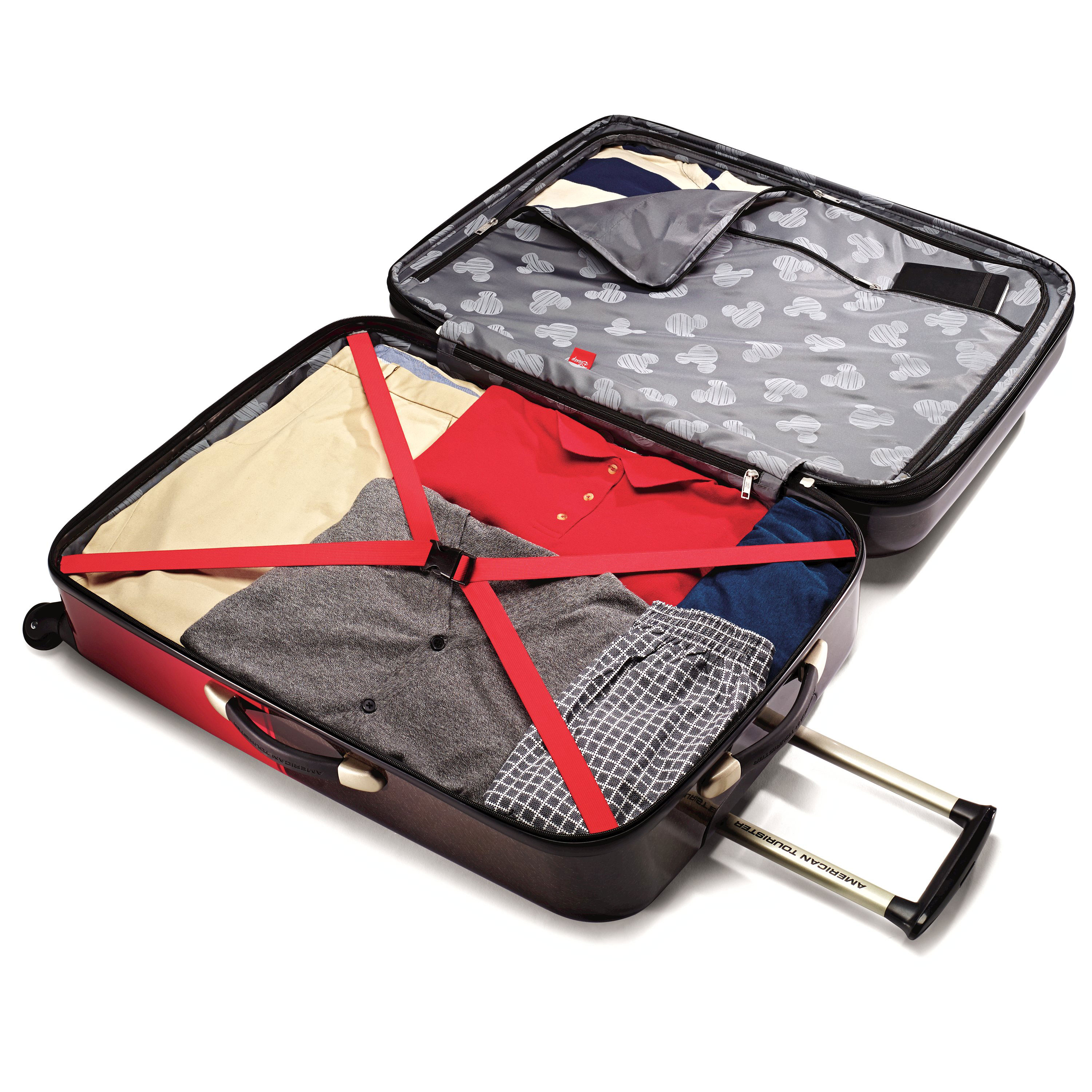 American-Tourister-Disney-Mickey-Mouse-Hardside-Spinner-Luggage thumbnail 8