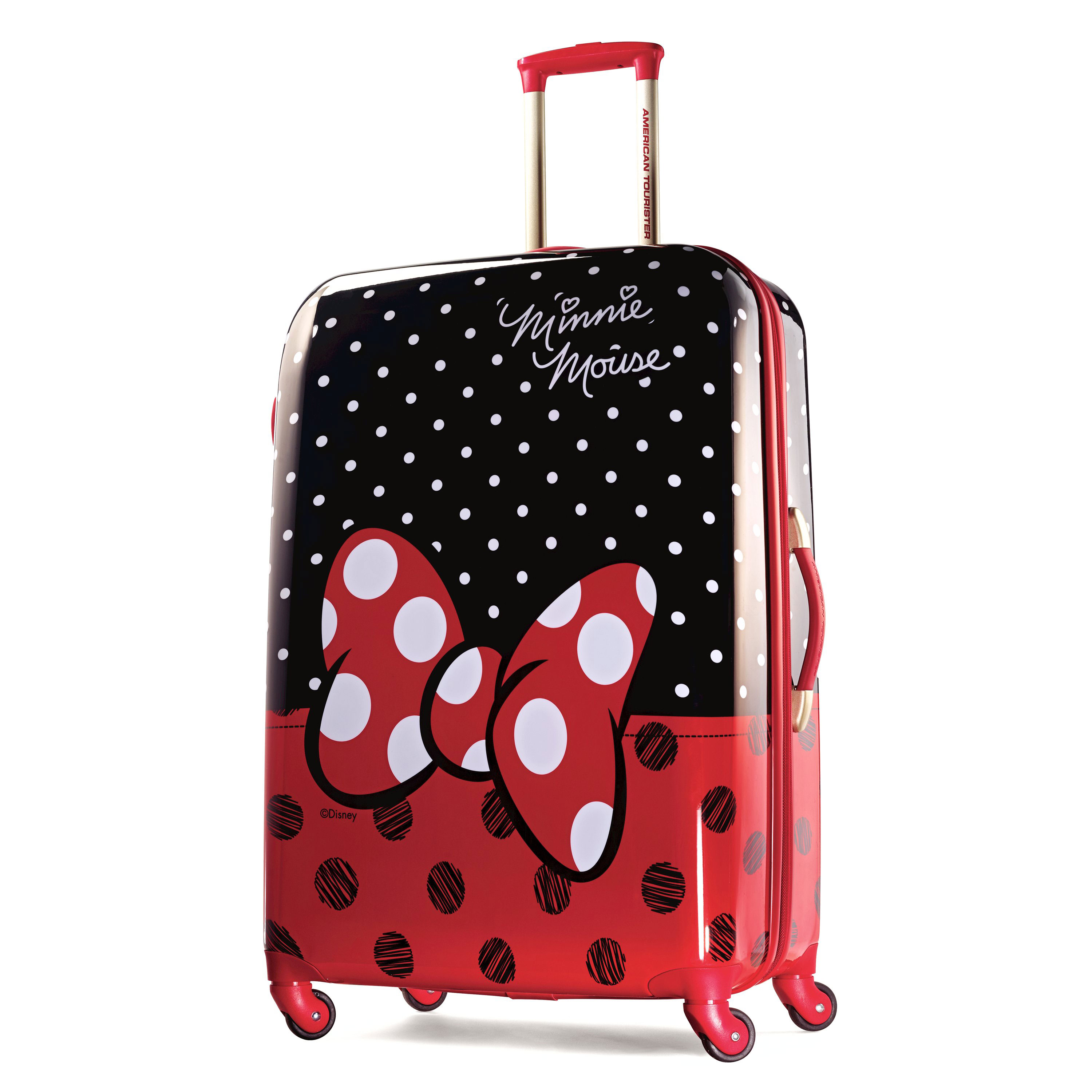 American Tourister Disney Minnie Mouse Hardside Spinner - Luggage  0cd29be907812