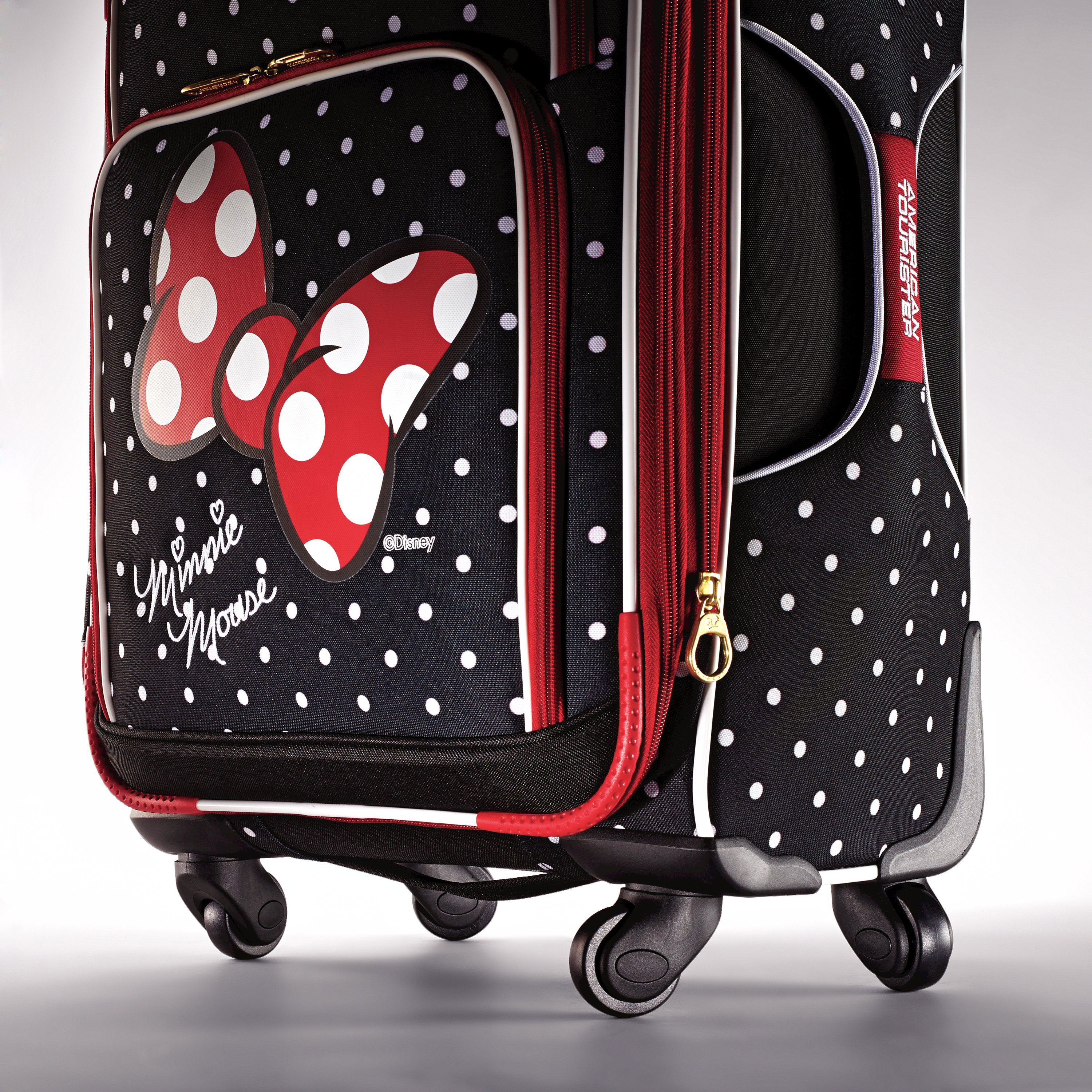 american tourister disney minnie mouse spinner luggage ebay. Black Bedroom Furniture Sets. Home Design Ideas