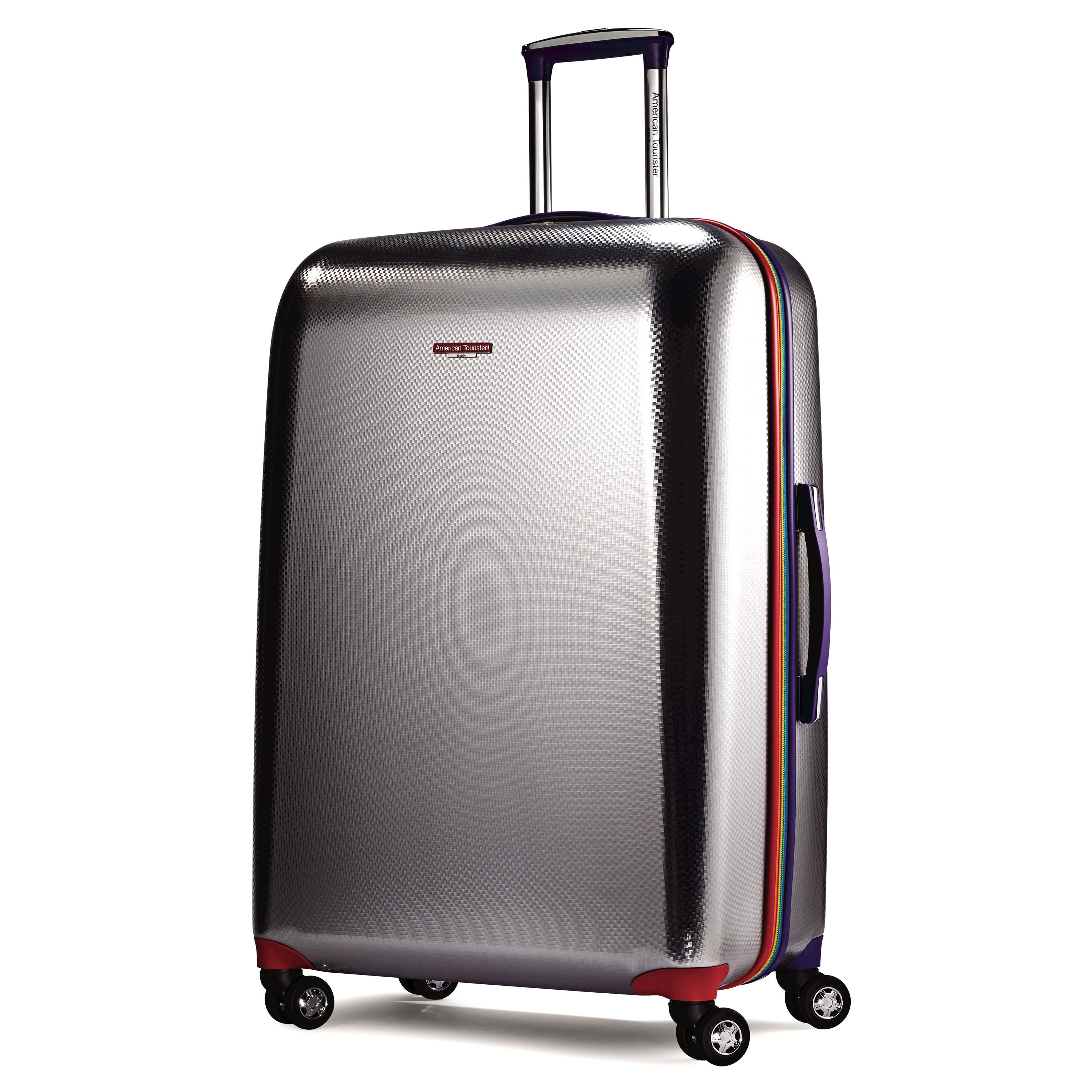 american tourister metallic disco spinner luggage ebay. Black Bedroom Furniture Sets. Home Design Ideas