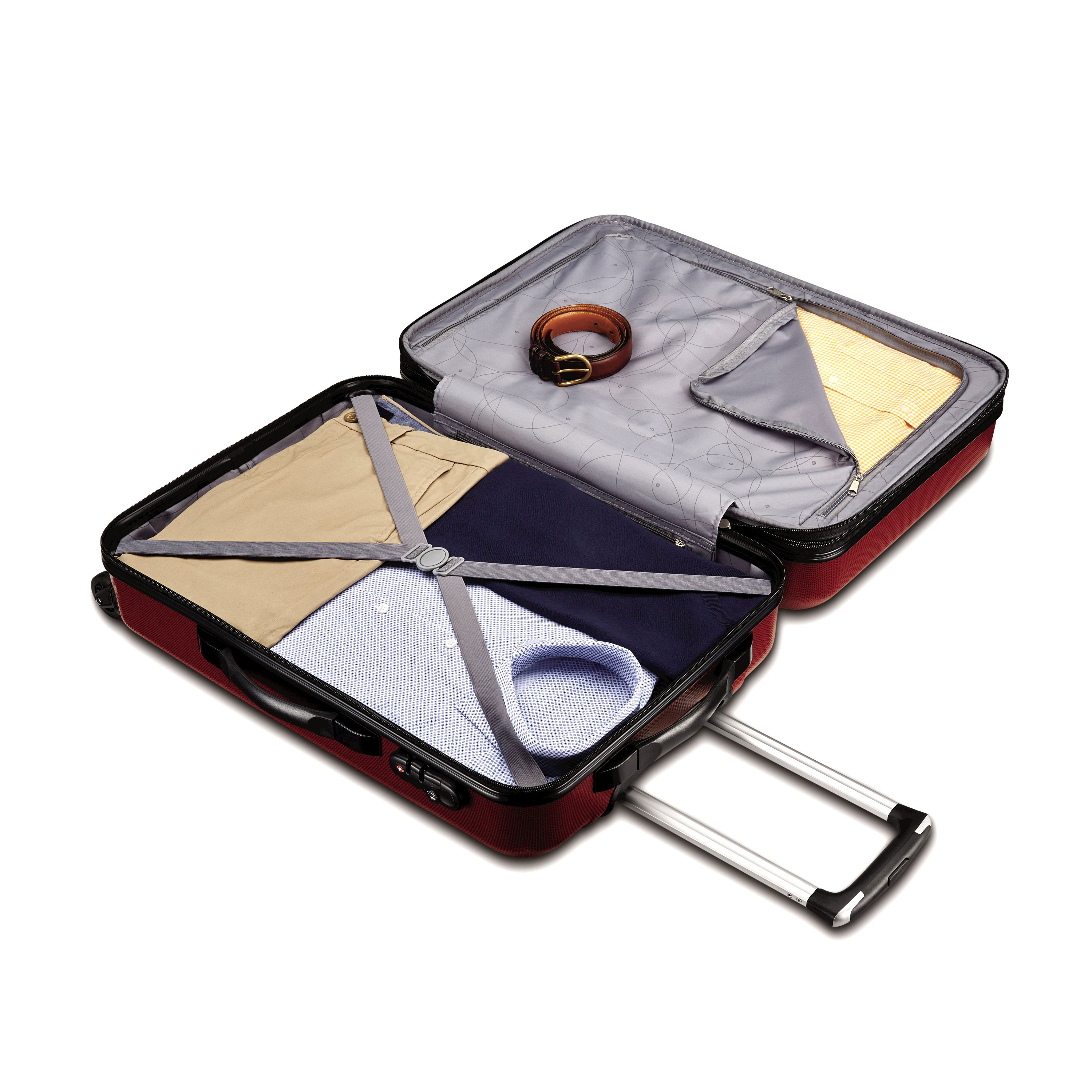 thumbnail 13 - Samsonite-Carbon-2-Carry-On-Spinner-Luggage