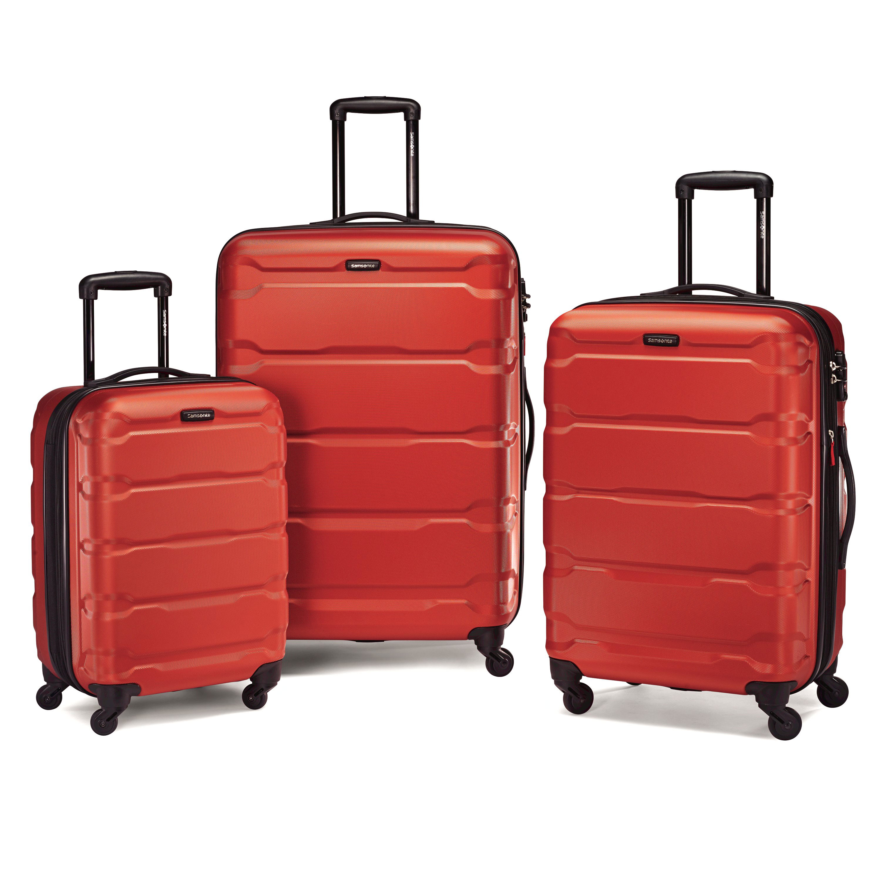 Samsonite suitcases hold all your essentials when you're on the go.